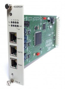 FES-X 10/100Base-T Ethernet Redundancy Switch for HSM-X