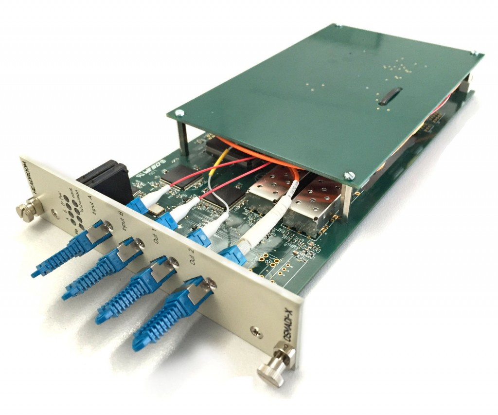 OSMADI-X  optical MADI switch for HSM-X